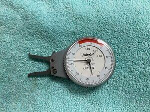 "Intertest Kroeplin Mechanical Inside Diameter Micrometer Gauge 1.02-1.12 .0005"""