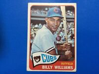 1965 Topps #220 Billy Williams Chicago Cubs VG/EX+-EX (wear) VERY NICE