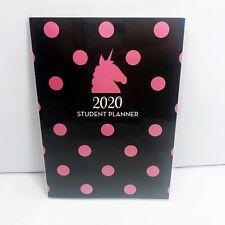 "2019-2020 Unicorn Student Planner Monthly Academic School Calendar 7"" x 9.5"""