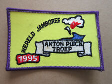 Wereld Jamboree '95 Anton Pieck Cloth Patch Badge Boy Scouts Scouting L3K C