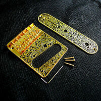 Retro Telecaster Guitar gold chrome single Fender Pickups Bridge