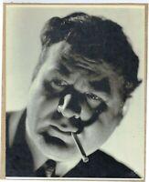 VINTAGE ORIGINAL 1940 CHARLES LAUGHTON STUDIO PORTRAIT PHOTOGRAPH HY BECKER