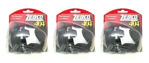 (3) Zebco The Famous 404 Bite Alert 15LB Line Spincast Reels 2.8:1 Brand New