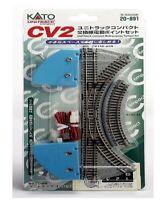 Kato N Scale 20891 CV-2 Unitrack Compact Multi-Purpose Turnout Set