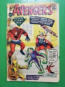 Avengers #2 1st App Space Phantom Stan Lee Jack Kirby 1963 Marvel PR