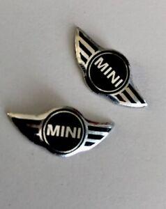 Mini  Keyring Sticker x2 for standard flip key Mini  Stickers