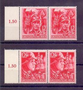 Deutsches Reich 1945 - MiNr 909/910 postfrisch im Paar - Michel 160,00 € (720)