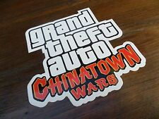 $$$$ GRAND THEFT AUTO CHINATOWN WARS STICKER $$$$ ROCKSTAR GAMES $$$$