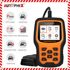 OBD2 Code Reader Diagnostic Scanner Tool Car Battery Test Check Engine Autophix