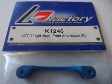 Light Aluminium Front Arm Mount (R) For Team Associated NTC3 TA K-Factory K1246