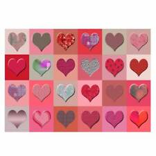 Unique High Quality Various Design Red Hearts Gift Wrap -Size A3