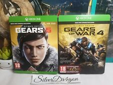 Gears Of War 4 & 5 Ultimate Steelbook Edition Xbox One Games Bundle