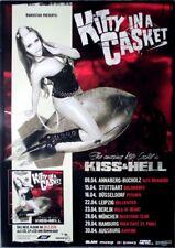 KITTY IN A CASKET - 2016 - Tourplakat - Kiss & Hell - Tourposter