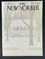 COVER ONLY ~ The New Yorker Magazine, January 8, 1979~ Charles E. Martin