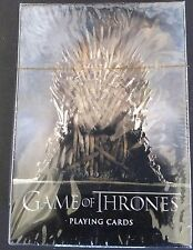 GAME OF THRONES PLAYING CARD DECK 2012