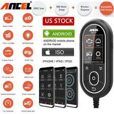 OBD2 Diagnostic Tool Automotive Scanner Bluetooth Code Reader for Android IOS