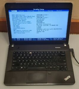 Lenovo Thinkpad E440 Intel Core i5-4000M 2GB RAM 0GB HDD BOOT TO BIOS repair
