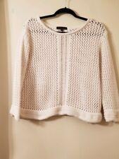 Sanctuary Clothing Sz Medium Sweater  Knit  Crewneck Ivory