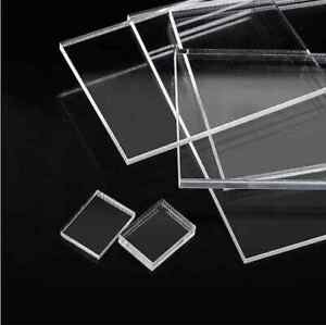 Clear Perspex Sheet Acrylic Cut to Size Sheet Any Size Your Require Size