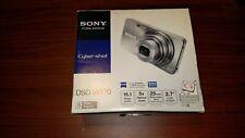 Sony Cyber-shot DSC-W570 16.1MP Digital Camera - Gray