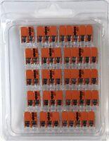 Wago 221 Klemmen SET 5x 221-412, 221-413, 221-415 | Kabel Verbinder Original