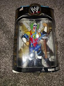 WWE Classic Superstars DOINK THE CLOWN Wrestling Figure WWF Sealed *Autographed*