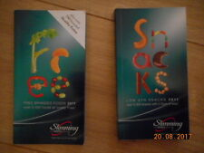 SLIMMING WORLD FREE BRANDED FOODS & LOW SYN SNACKS 2011 RED GREEN & EASY EX CON
