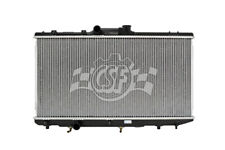 Radiator-1 Row Plastic Tank Aluminum Core CSF 2468