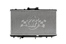 Radiator-1 Row Plastic Tank Aluminum Core CSF 2468
