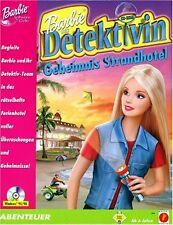 Barbie PC Spiel selten Barbie als Detektivin - Geheimnis Strandhotel deutsch