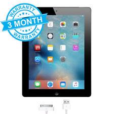 Apple iPad 2 (2nd Gen) 16GB, Wi-Fi + 3G 9.7in - Black iOS 9 **3 Month Warranty**