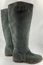 UGG Women's Daley Tall Knee High Suede Boots Grey Size 9