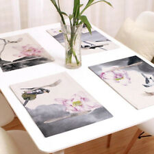 Cotton Linen Coaster Pad Table Decoration Dining Table Protector Placemat N3