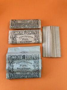 Job LoT Antique Victorian Pins In  Original Packaging - Kirby Beard & Co