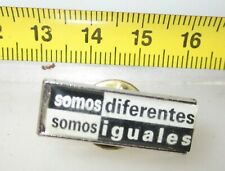 SOMO DIFERENTES SOMO IGUALES SPILLA  PIN