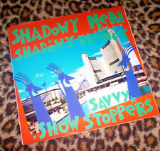 SHADOWY MEN ON A SHADOWY PLANET ~ SAVVY SHOWSTOPPERS. Orig UK 1988 vinyl LP.