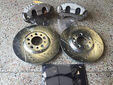 "ZZPerformance 12"" Front Dual Piston Brake Upgrade kit Chevy Cruze & Sonic"