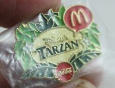 Disney Tarzan Coca Cola McDonalds Employee Pin