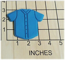 Baseball Jersey Shaped Fondant Cookie Cutter and Stamp #1185