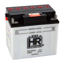 Motorradbatterie 12V 30Ah 53030 Y60-N30L-A C60-N30L-A inkl. Säurepack *NEU*