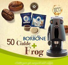 MACCHINA DA PER CAFFE FROG DIDIESSE REVOLUTION CON 50 CIALDE BORBONE MISCELA BLU