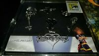 Kingdom Heart Lapel Pin Set 2017 Comicon Exclusive!!!