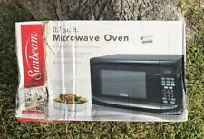 Sunbeam 0.7 Cu-Ft. Digital Microwave Oven-Black