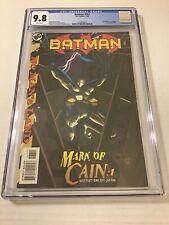 Batman #567 CGC 9.8 DC Comics 1999 1st Batgirl Cassandra Cain