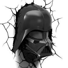 Star Wars 3D Darth Vader Head Wall Light **BOX DAMAGED**