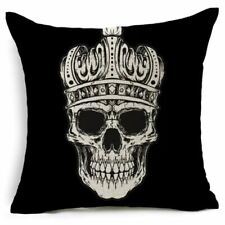 Skull Home Decorative Cushion Cover