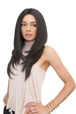 100% HUMAN HAIR BLEND BRAZILIAN SCENT PRE TWEEZED WIG - JANET COLLECTION CORAL