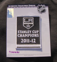 Official 2011 2012 Stanley Cup Final Finals Champions Patch Los Angeles Kings