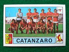 CALCIATORI 1975-76 75-1976 n 404 CATANZARO SQUADRA , Figurina Panini NEW