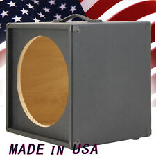 1X15 Bass Guitar Empty Speaker Cabinet Bronco Black Tolex MiniBG115 BBTLX